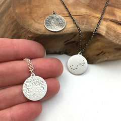 Full Moon Charm & Zodiac