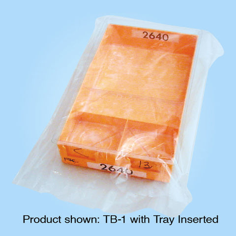 Plastic Tray Bags Gusseted GTB-4