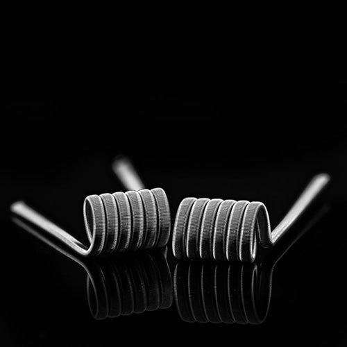 Coilturd 26g Pre-wrapped Fused Clapton Coils
