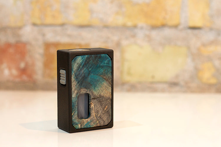 3D Printed Mechanical Squonk Mod by Rig Mod Grey Clear