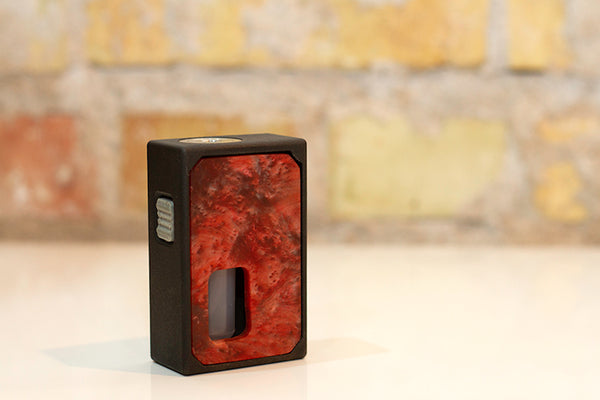 3D Printed Mechanical Squonk Mod by Rig Mod Red