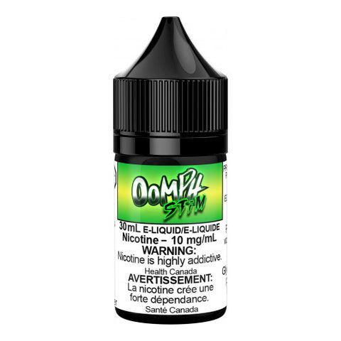 30mL OOMPH STiM Salt Nicotine Blueberry Strawberry Apple Raspberry Pear Fruit Eliquid Ejuice