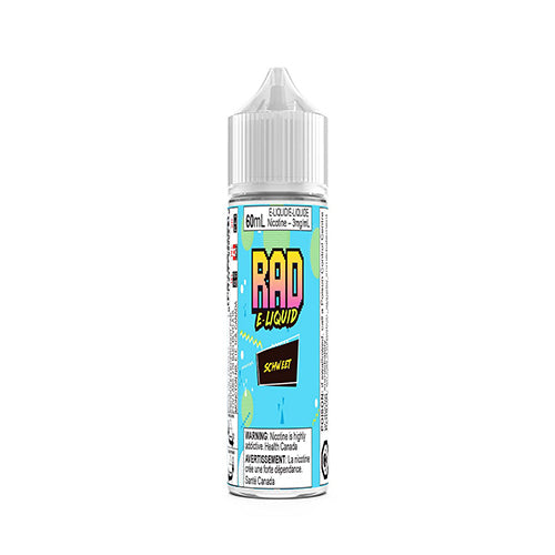60mL Rad Vaper Schweet Blue Raspberry Eliquid Ejuice