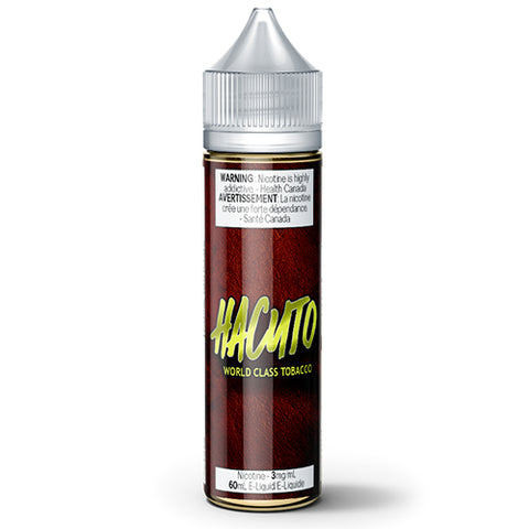 60ml Professor Pibblesworth's Exotic Tobaccos Hacuto Hazelnut Cream Custard Tobacco Eliquid Ejuice