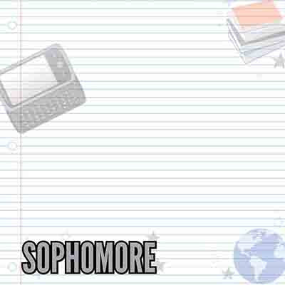 Sophomore 10th Grade 5 Sheets by Reminisce Making The Grade School Paper