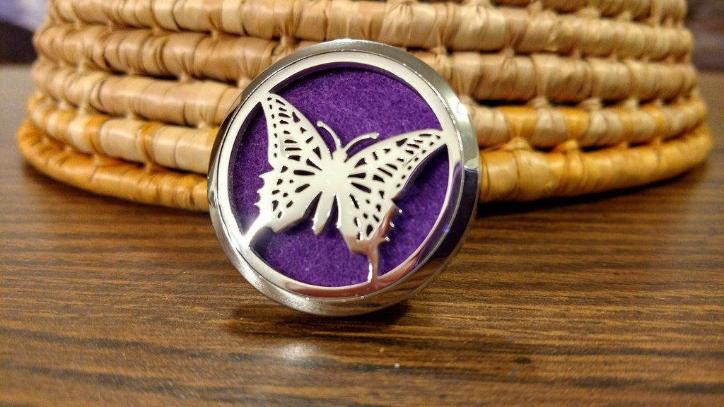 Butterfly Essential Oil Car Diffuser Locket