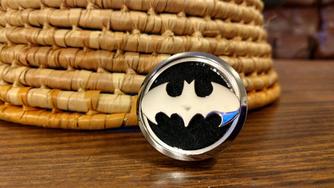 Batman Essential Oil Car Diffuser Locket
