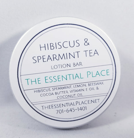 Hibiscus & Spearmint Tea Exfoliating Lotion Bar