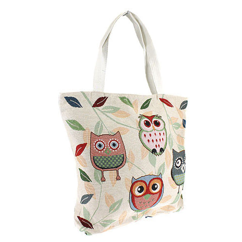 Owl and Friends Bag
