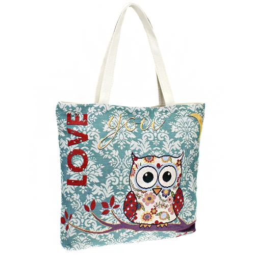 Love You Owl with Moon Bag