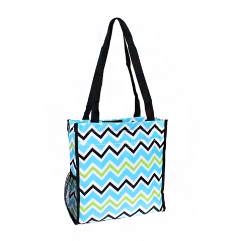 Chevron Multi Colored Book Bag