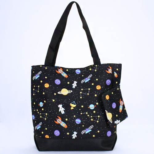 Outer Space Shopping Tote