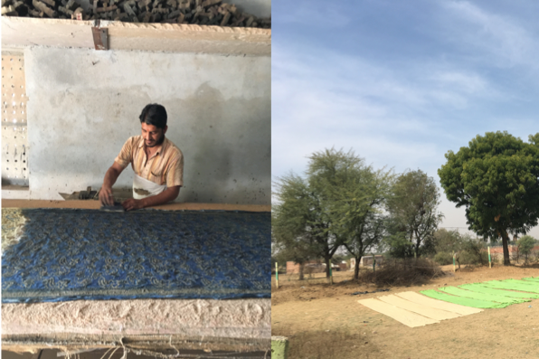 blockprinting in bagru india