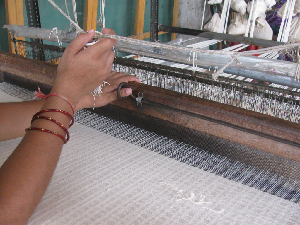 handloom weaving in india - mirth kaftans
