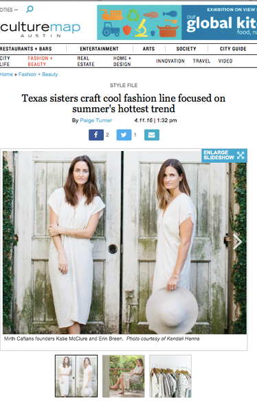 austin culturemap article on mirth caftans sisters