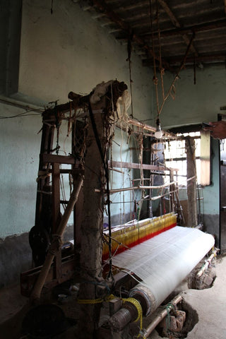 jamdani handloom textiles from west bengal india