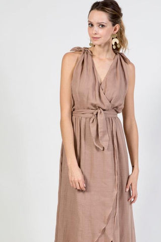 amagansett dress in gingersnap