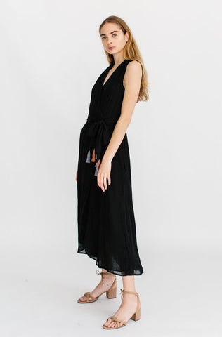 amagansett dress in black