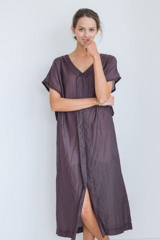 el tule summer dress in soft black