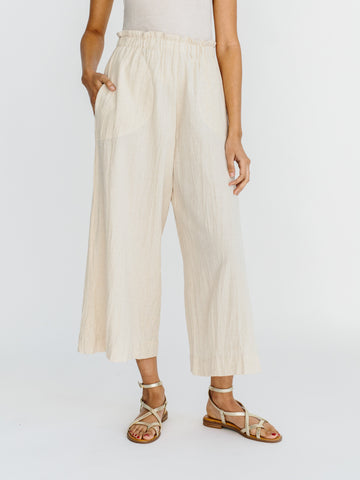 beach pant in oatmeal
