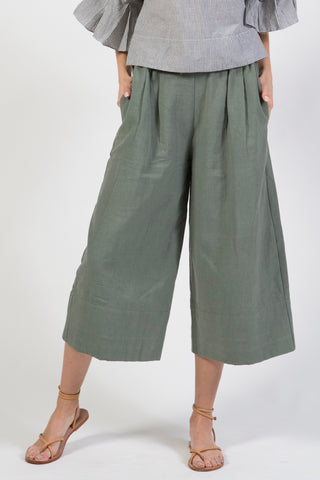 istanbul pant in dusty green
