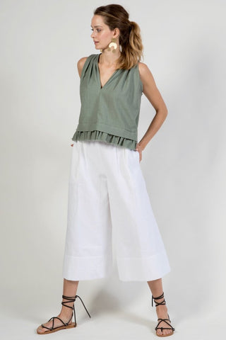 istanbul pant in white