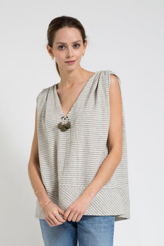 nantucket handwoven top