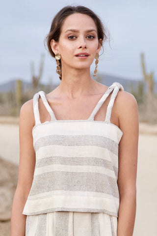 sahara tank in stripe