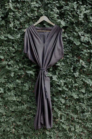 lbd flowy kaftan dress for layering this fall