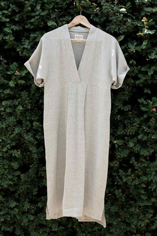 fall fashion kaftan in handwoven cotton