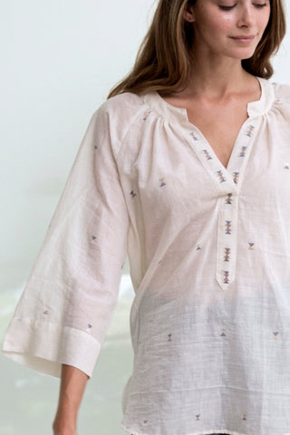 palm springs tunic blouse
