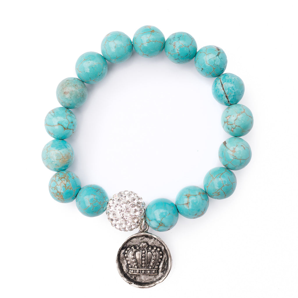 Blue Monarch Bracelet