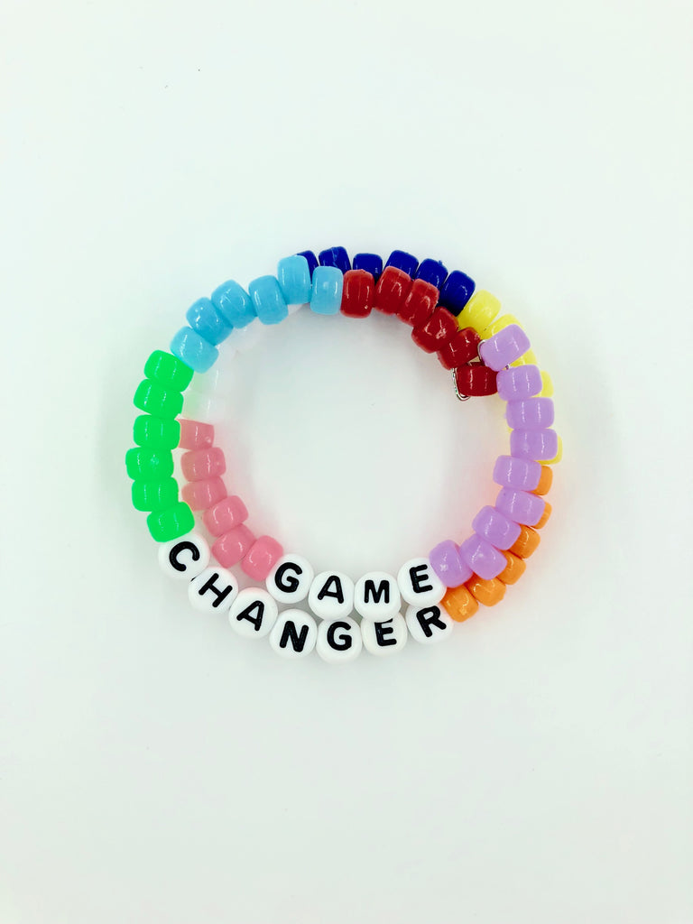 Block Rainbow Game Changer Bracelet