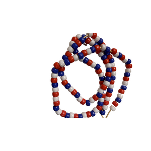 Red, White and Blue Mask Chain