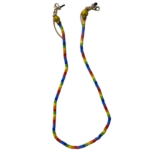 Rainbow and Emoji Mask Chain