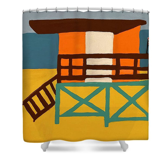Beach Watch - Shower Curtain