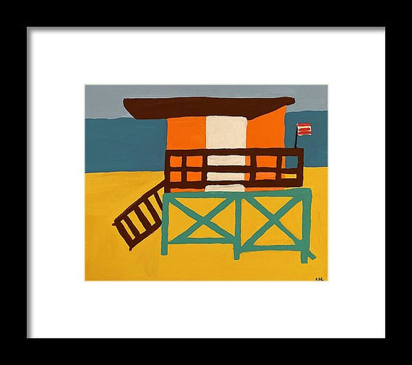 Beach Watch - Framed Print