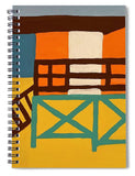 Beach Watch - Spiral Notebook