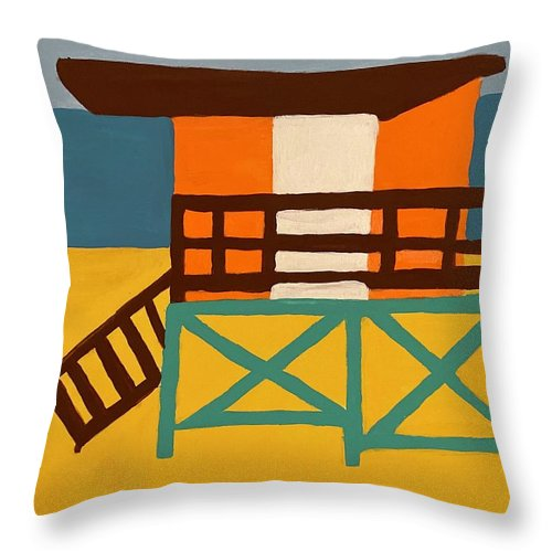 Beach Watch - Throw Pillow