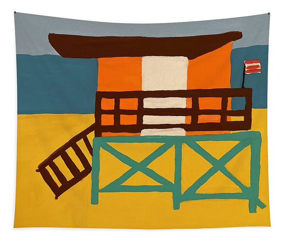 Beach Watch - Tapestry