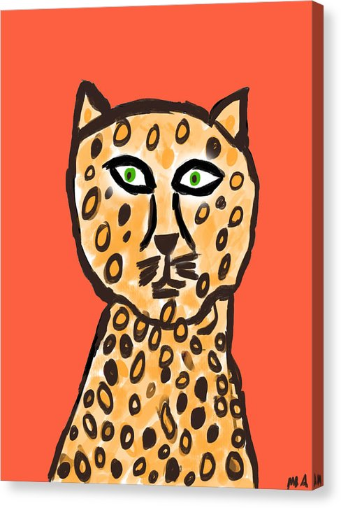 Cheetah Love - Canvas Print