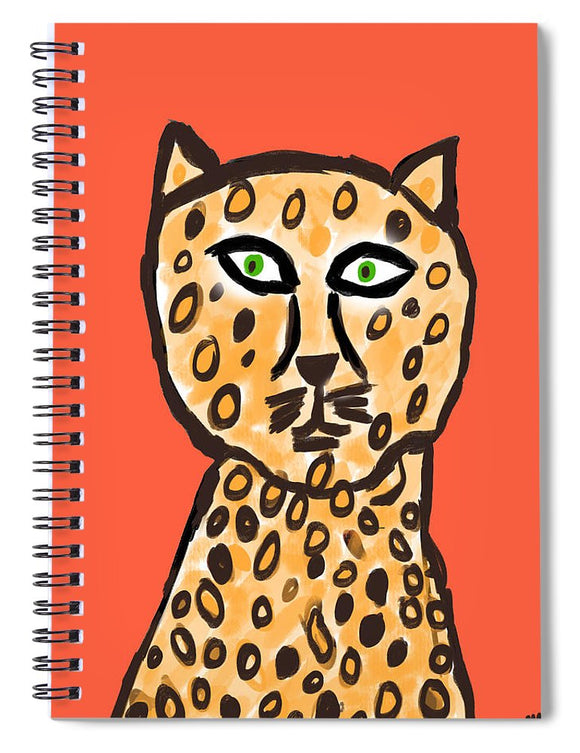 Cheetah Love - Spiral Notebook
