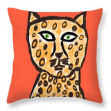 Cheetah Love - Throw Pillow