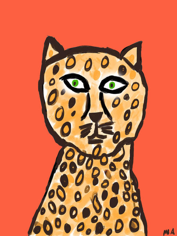 Cheetah Love - Art Print