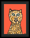 Cheetah Love - Framed Print