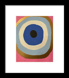 Eye See U - Framed Print