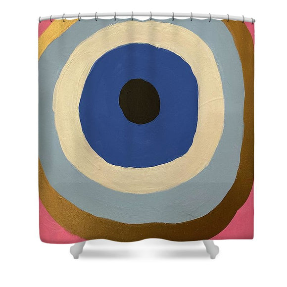 Eye See U - Shower Curtain
