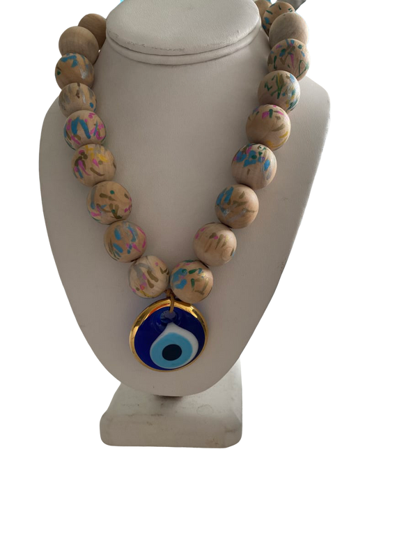 Crete Evil Eye Necklace