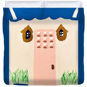 Is Anyone Home - Duvet Cover