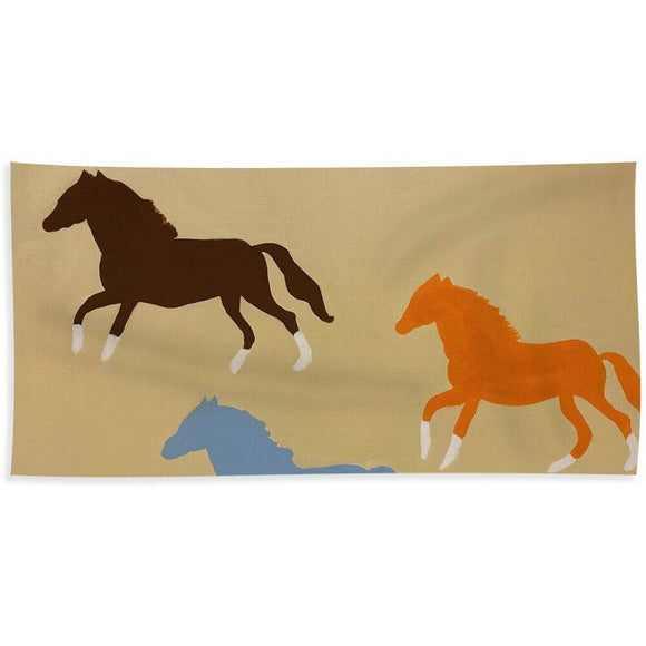 Triple Cantor - Beach Towel
